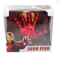 Movie Tony Stark Iron Man Testa Gioca Assemblare A Mano 2012 Prodotti di EL Cosplay Toy Spedizione Gratuita