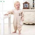 100% overoles de algodón de otoño ropa del bebé de los mamelucos ropa de bebé recién nacido ropa trajes para niños ¡ envío libre!