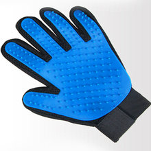 Pet Brush Glove For Pets Efficient And Soft Pet Glove Disposer Supply Of Dog Gloves Cat Cleaning Accessories Pet Gloves Comb(China)