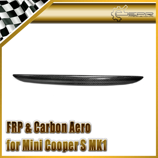 Car Styling For BMW Mini Cooper S MK1 2001-2006 R50 R52 R53 Carbon Fiber Boot Lid Grib набор приспособлений для обслуживания грм двигателя bmw n12 mini cooper jonnesway al010079