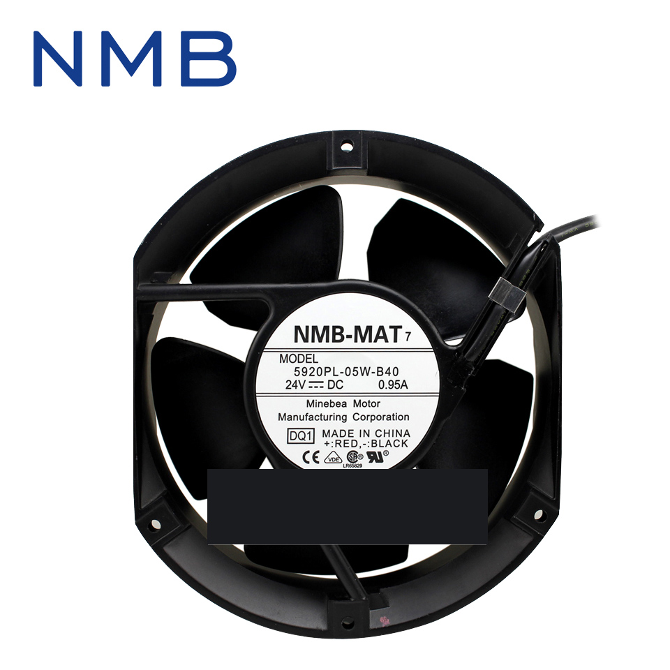 все цены на  New and original inverter fan 5920PL-05W-B40 1751 24V axial fan authentic spot 172*150*50mm  онлайн