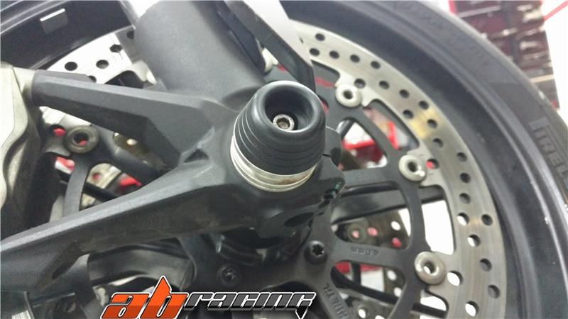 Front Wheel crash sliders Fork protector Bobbins For Ducati Hypermotard 939 & 821