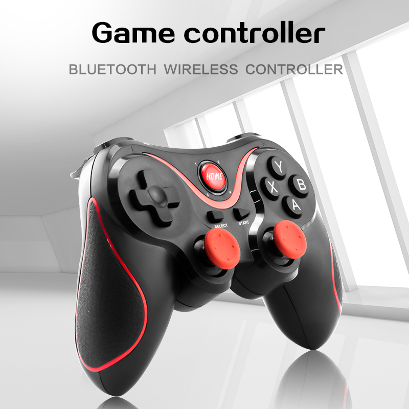 Wireless Bluetooth Gamepad Support Official App Game Controller For iPhone Android Smart Phone For PS3 PC TV Box 7