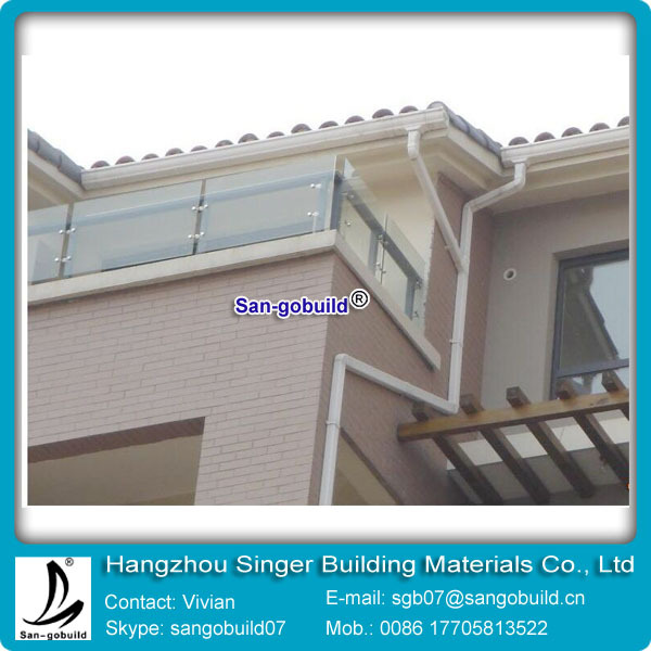 High Quality Chinese Colored Roof Gutter System For Roof