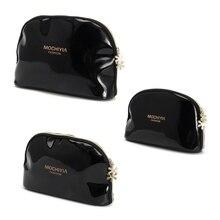 THINKTHENDO Women Makeup Cosmetic Case Pen Pencil Bag Zipper