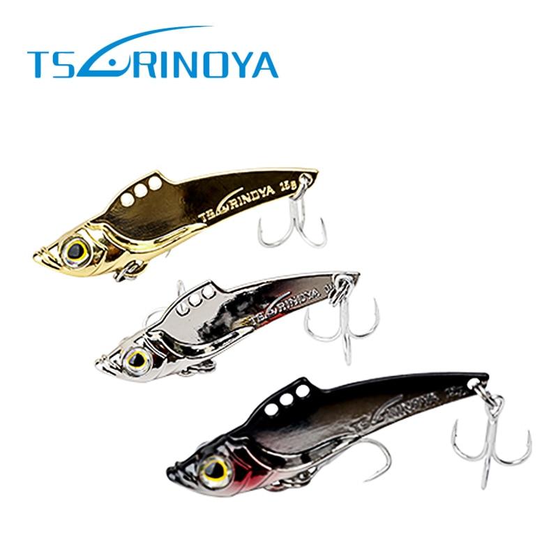 3ks Tsurinoya Lžíce Lure 7g / 10g VIB Metal Bait Leurre Dur Peche Umělé Pesca Souple Hard Fishing Lures