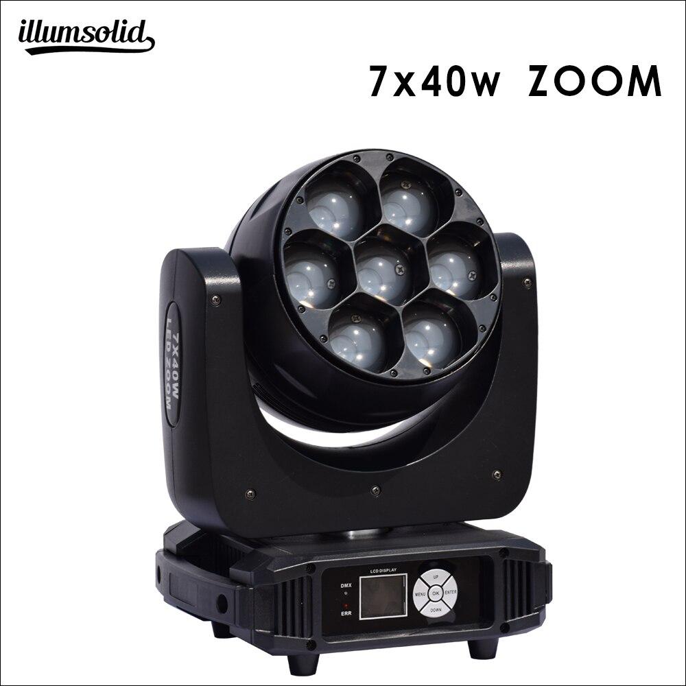 7x40w Moving Head Zoom Light Bars Disco Rotating Head lighting high brightness7x40w Moving Head Zoom Light Bars Disco Rotating Head lighting high brightness