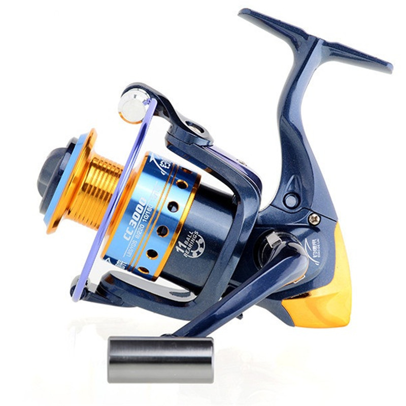 New high speed  Spinning Fishing Reel 11BB BM3000 Ratio 5.2:1 Fish Wheel Saltwater  For SK Fishing reels new yumoshi fishing reel 9 1bb spinning reel boat rock fishing wheel 4000 9000 series reel