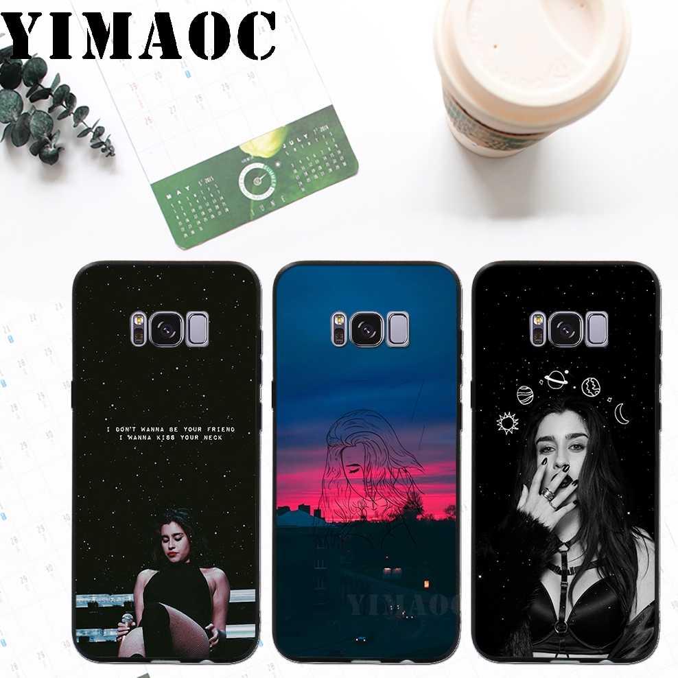 YIMAOC Fifth Harmony арт Мягкий силиконовый чехол для Samsung Galaxy A3 A5 A6 плюс 2017 2017 2016 S6 S7 край S8 S9 плюс & Note 8, 9