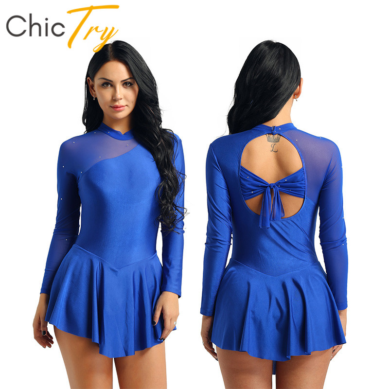 chictry-women-mesh-splice-font-b-ballet-b-font-tutu-leotard-dress-figure-skating-costume-adult-long-sleeve-gymnastics-leotard-stage-dance-wear
