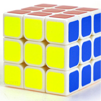 Classic Toys Cube3x3x3 PVC Sticker Block Puzzle Speed Magic Cube Colorful Learning Educational Puzzle Cubo Magico