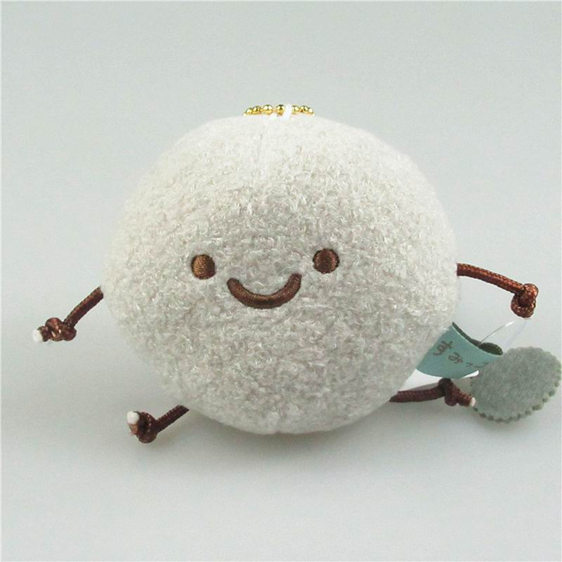 SAILEROAD 8cm Kids Cute Toys Small Pendant Soft Stuffed Plush Animal Toy for Girls Short Stuffedfor Chrismas Birthday Gift