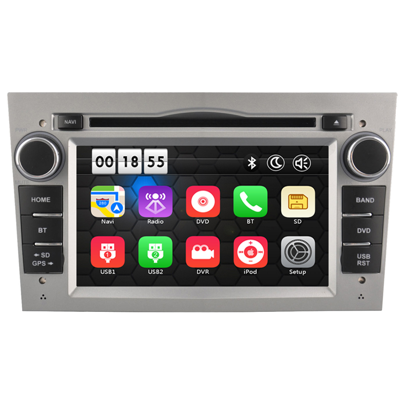 7 Inch Two Din Car DVD Player For Opel Vauxhall Antara VECTRA ZAFIRA Astra Capacitive Screen