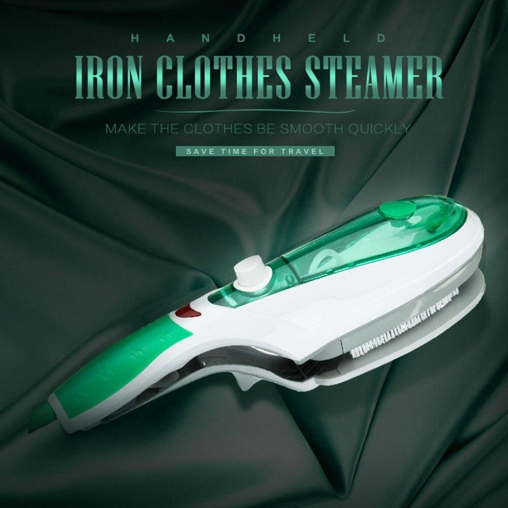 Asse da Stiro US Regolamenti Garment Steamer Vestiti Spazzola A Vapore Casa Mini Portatile Elettrico A Vapore Da Stiro Verde 110 v