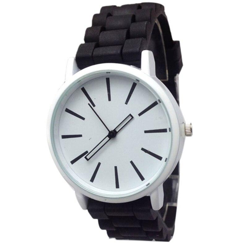 Excellent Quality New Arrival Fashion Candy Color Silicone Quartz Geneva Women Wrist Watch Relogio Feminino for Gift 2016