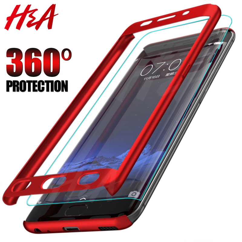 Image 5 - H&A 360 Luxury Full Protective Case For Samsung Galaxy S9 S8 Plus S6 S7 Edge Note 9 8 A5 A7 A3 2017 Anti knock Cover S8 S9 Case-in Phone Bumpers from Cellphones & Telecommunications