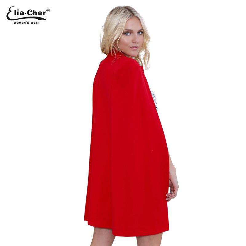 Eliacher Brand Chic Elegante Abrigo de lana para mujer Mezclas de - Ropa de mujer - foto 3