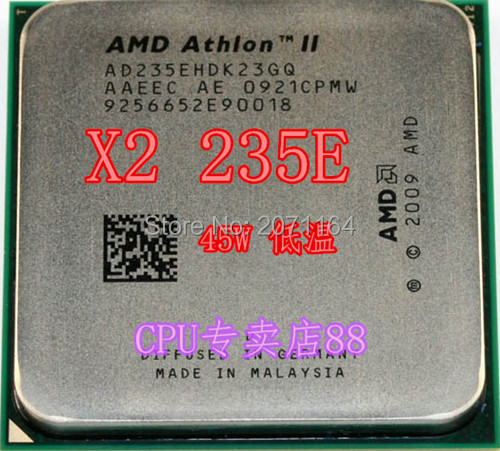 Для AMD Athlon II X2 245e AM3 938-контактный low-45w 2.9 г Настольных процессоров