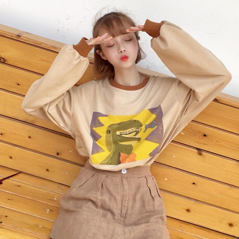 YouGeMan Tshirt Top Woman Clothes Spring Korean Ulzzang Hara