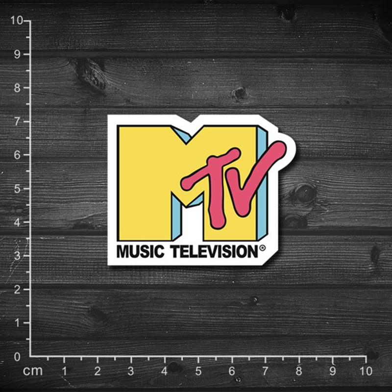 MTV sproof of Waterproof laptop sticker Furnitue Film, car stickers motorcycle stickers