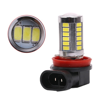 9-15V H 8/H 11 D RL Light Bulb SMD 5630 33 Led White C Ar Fog Light Headlight Driving Daytime Running Lamp Bulb