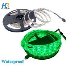 HBL 5050 RGB led strip light 60 leds/m 5M Non waterproof Waterproof RGB led tape led ribbon for home decoration