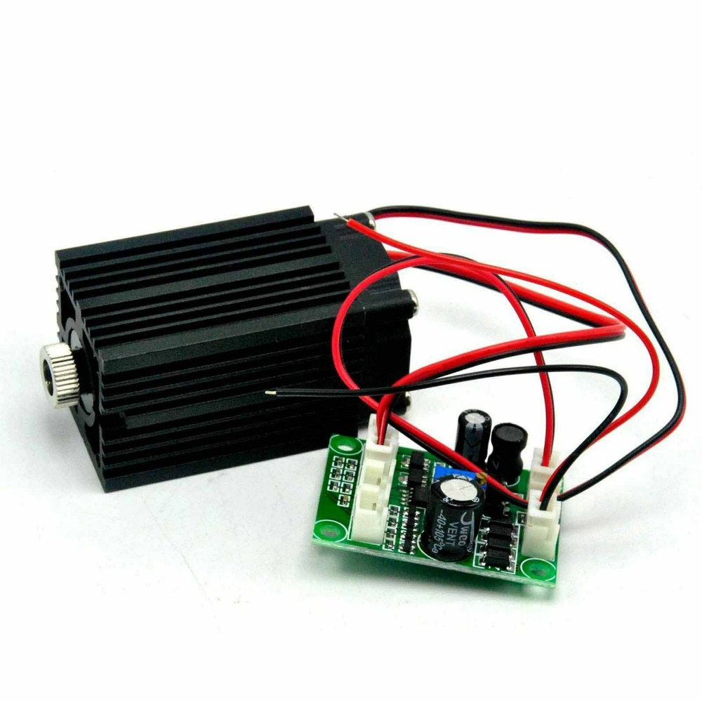 12V 980nm 100mw Focusable IR Laser Diode Module Dot Laser W/TTL Infrared Light Night Vision