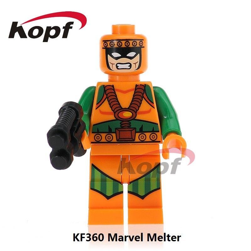 Custom Guardian Alpha Flight Super heroes minifigures marvel on lego bricks