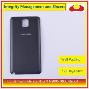 Image 3 - الأصلي لسامسونج غالاكسي نوت 3 N9005 N900 N900A N900T N900V N900S بطارية مبيت الباب الخلفي الغطاء الخلفي حافظة الهيكل
