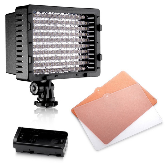 Neewer CN-126 LED Video Photography Light Lighting for Canon Nikon Sony Panasonic Olympus Pentax&DV Camera Comcorder