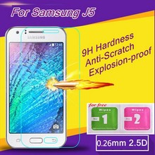 0.26mm Tempered Glass for samsung galaxy J5 J500 J500F front premium tempered glass j5