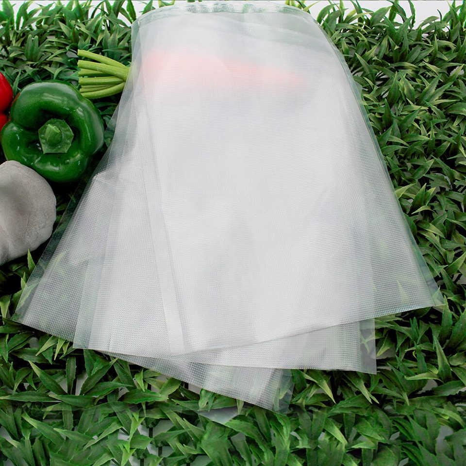 LAIMENG 50 worków do pakowania próżniowego do przechowywania żywności Vac Sealer Sous Vide Vaccume pre-cut worek do przechowywania pakowacz próżniowy P105