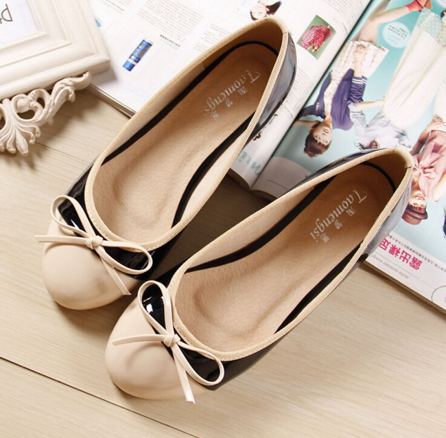 (33-43 yards) free shipping 2016 new fashion women BLACK flat shoes comfortable soft-soled shoes, casual shoes Peas #618-1