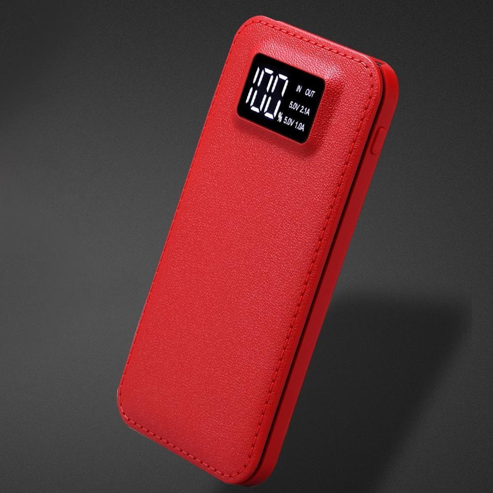 For XIAOMI power bank 20000 mah Portable Power Bank 20000mAh External Battery DUAL Ports powerbank Charger Mobile Charger