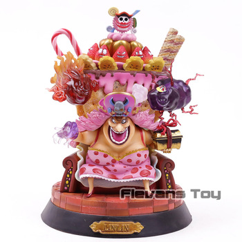Anime One Piece BIG MOM Charlotte Linlin with Throne GK Action Figure Collectible Model Toy