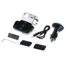 Bluetooth In-car Hands-Free Speakers Kit 10 m Wireless Range for Android iOS moukey wireless page turner pedal for tablets ipad app controls hands free reading page turns 10m bluetooth range turning pedal