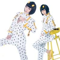 Anime JOJO 5 JoJo's Bizarre Adventure Golden Wind Bruno Bucciarati Cosplay Costume halloween costume