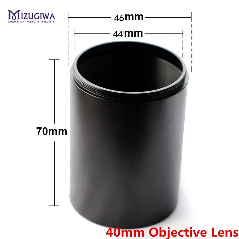 MIZUGIWA Metal Tactial Sunshade Tube Shade For Rifle Scope With 40mm Or 50mm Objective Lens Sun Shade Pistol Airsoft Caza