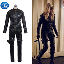 MANLUYUNXIAO 2015 New Arrival Women's Outfit  Arrow Black Canary Dinah Laurel Lance Cosplay Costume For Women