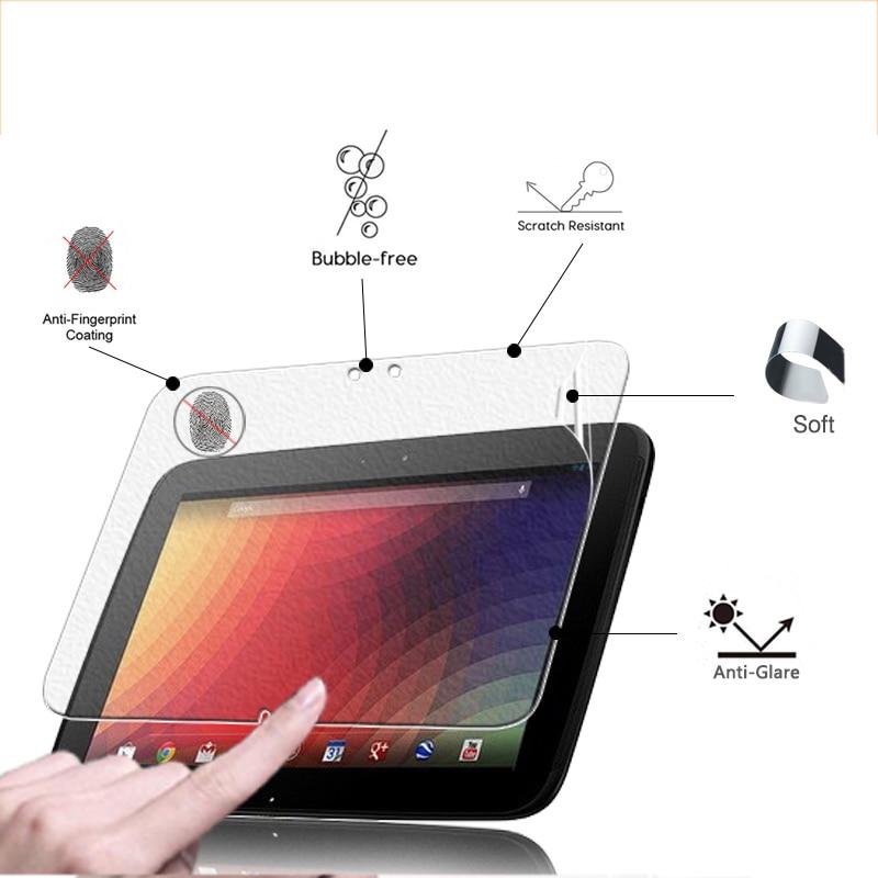 Front Anti-Glare Screen Protector Matte Film For Samsung Google Nexus 10 10.1
