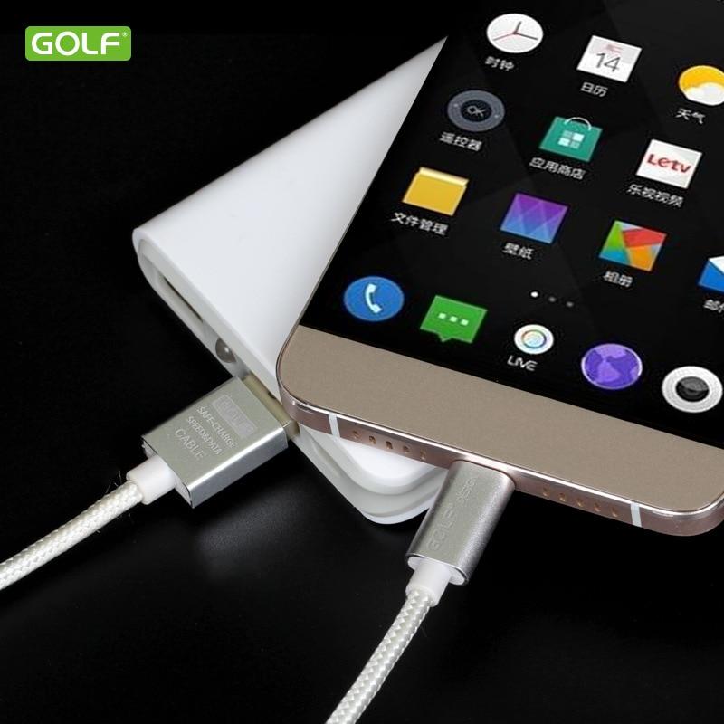 GOLF USB Tipe-C Kabel Sync Data Biaya Untuk Huawei P20 Honor 8 9 10 - Aksesori dan suku cadang ponsel - Foto 6