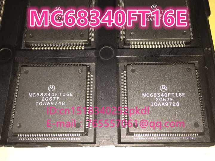 100%New original  MC68340FT16E TQFP-144   IC chip 100%new original b2415s 2w ic chip 10pcs