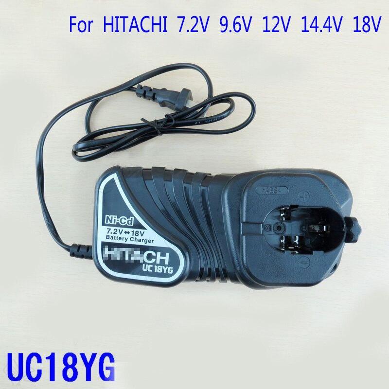 - 18V NiCD Li-Ion NEW NiMh HITACHI BATTERY CHARGER UC18YGL2 BCL1815 2 7