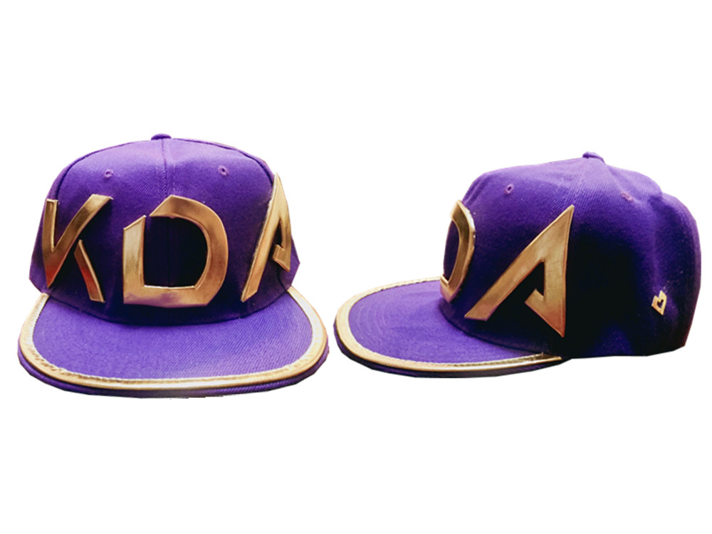 Game Lol Kda Akali Cosplay Props Hats Men Woman Hip Hop Cap Canvas Hand Embroidery Baseball Caps Hats Sun Demo Hat New Kids Costumes & Accessories