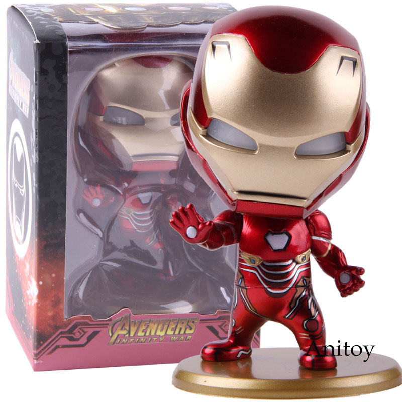 Avengers Infinity War Iron Man With LED Light Up Function Mini Action Figure Collectible Model Toy Gift For KidsAvengers Infinity War Iron Man With LED Light Up Function Mini Action Figure Collectible Model Toy Gift For Kids