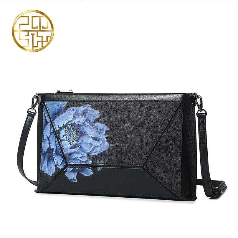 Famous brand top quality dermis women bag 2016 new China the wind messenger bag Printing envelope package famous brand top quality dermis women bag 2016 new fashion shoulder bag casual messenger bag handbag killer package