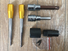 diesel common rail injector assemble and disassemble tool kits 6pcs for Bosch Denso diesel injector, common rail injector tool