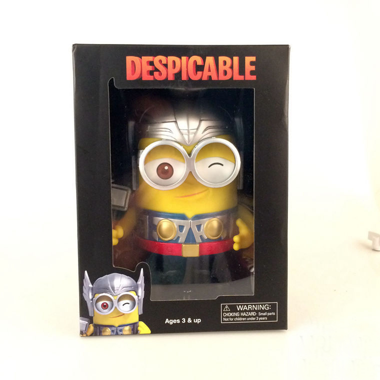 ФОТО New Arrival Classic Animation Movie Despicable Me Minions Thor Style 3D Eye Minion Cute 8