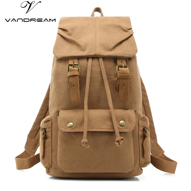 Unisex Women Man's Canvas Backpack Travel Schoolbag Male Backpack Men Large Capacity Rucksack Fashion Retro Shoulder School Bag rushed 2016 campus women girls backpack canvas men leisure backpack fashion school sports bag large capacity shoulder travel bag