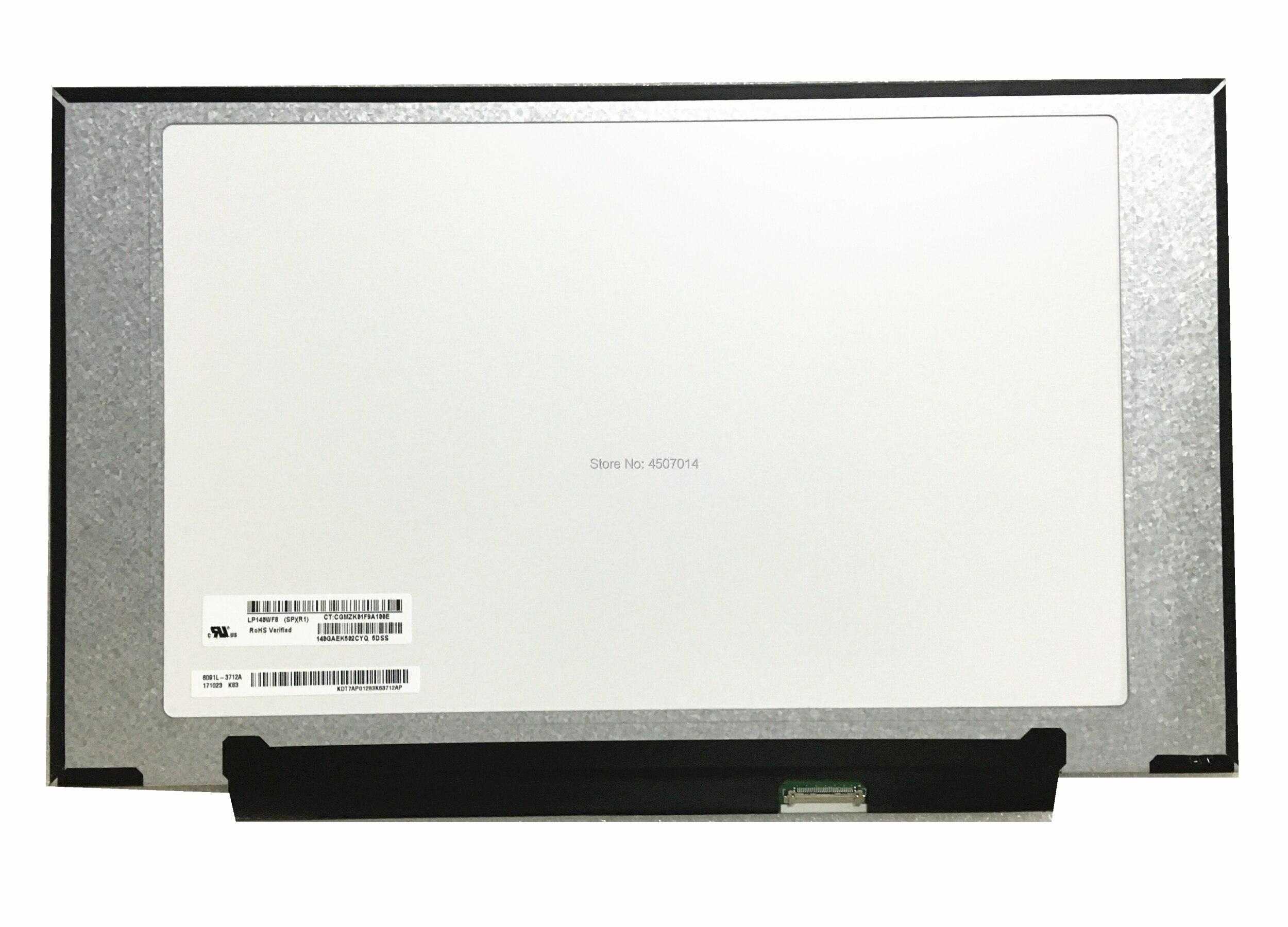 Free Shipping LP140WF8 SPR1 LP140WF8-SPR1 14.0inch Laptop Lcd Screen 1920*1080 EDP 30 PinsFree Shipping LP140WF8 SPR1 LP140WF8-SPR1 14.0inch Laptop Lcd Screen 1920*1080 EDP 30 Pins